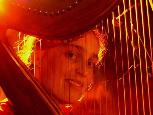 Cesca Dalferth harp a